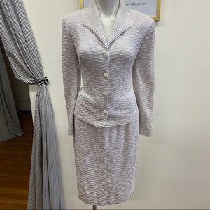 St. John Pastel Color Skirt Suit Set